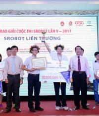 Lễ trao giải cuộc thi SRobot Lần V – Nơi tôn vinh những tài năng công nghệ trẻ